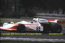March 761 Gerd Biechteler. Donington Park   Aurora F1 1978